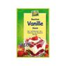 Organic instant vanilla sauce with bourbon vanilla